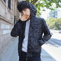 男士外套春季2018新款连帽夹克男青年韩版休闲潮流修身帅气男装薄