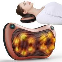 颈椎按摩器颈部腰部背部肩部全身电动车载枕头脖子靠垫家用