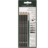 德国进口 FABER-CASTELL 辉柏嘉水溶性素描铅笔 素描套装 117897
