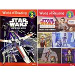 英文原版 Disney Star Wars World of Reading L2 星球大战分级读物11册 迪士尼儿童