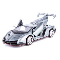 兰博基尼合金车模仿真跑车汽车模型摆件儿童玩具车男孩