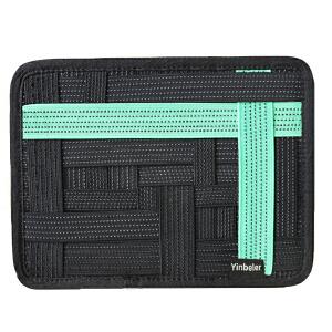 Yinbeler收纳板简约时尚平板电脑ipad创意收纳内胆大容量收纳板 出行旅游 小巧方便
