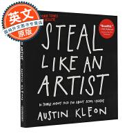 现货 好点子都是偷来的 英文原版 Steal Like An Artist 偷师学艺 成功心理学 Austin Kle