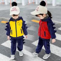 童装套装秋装两件套儿童潮衣