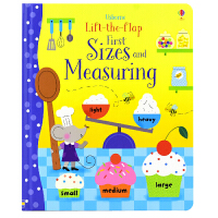 Usborne Lift-the-Flap First Sizes and Measuring 长度概念 儿童英语启蒙