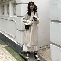 气质女神范套装女秋冬新款韩版针织毛衣裙子加半身裙两件套