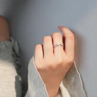 戒指女潮人学生食指戒指大气网红饰品指环