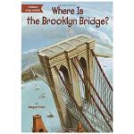 华研原版 布鲁克林桥在哪里 英文原版 Where Is Brooklyn Bridge 英文儿童桥梁章节书 中小学生读