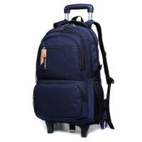 拉杆包可拉行李包新款中学生拉杆书包中学生可拆卸两用休闲双肩包