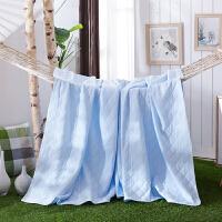 艾桐家居婴儿纯色床品 针织棉被子全棉空调被 天竺棉夏凉被