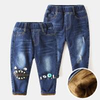 儿童牛仔裤宝宝冬装童装男童裤子长裤5岁