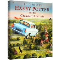 送音频 哈利波特与密室 插图彩绘版 英文原版 Harry Potter and Chamber of Secrets 第