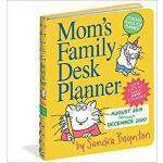 【预订】Mom's Family Desk Planner Calendar 2020 9781523508303