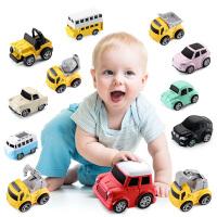 儿童合金仿真回力玩具车模型套装