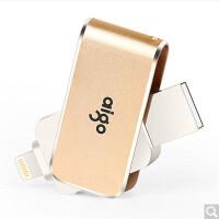 爱国者(aigo)32G苹果手机U盘USB3.0苹果官方MFI认证 iPhone和iPad双接口手机电脑用 金色