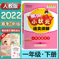 新版 2020春黄冈小状元语文详解一年级/1年级语文下册R(人教版)同步讲解类