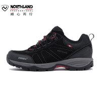 【诺诗兰品牌特惠】诺诗兰19新款旅行登山徒步鞋户外运动透气休闲低帮鞋女FH082505