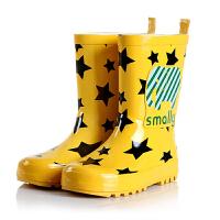 儿童雨鞋男童女童宝宝雨靴防滑韩版可爱小学生水靴小孩水鞋套胶鞋