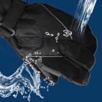 大码户外滑雪手套 美版出口滑雪手套 加厚防风骑行运动手套 男女防水保暖手套