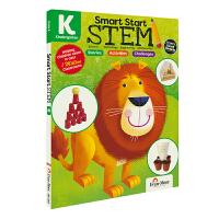 Evan-Moor Smart Start STEM K 幼儿园聪慧启蒙跨学科学习练习册 科学/技术/工程/数学 美国