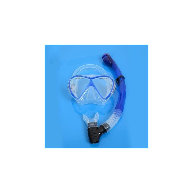 硅胶专业深潜浮潜大视野潜水面镜游泳潜水镜+呼吸管 支持礼品卡支付 品质保证 售后无忧 支持货到付款