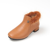 女童靴子秋冬2017新款韩版潮高跟公主靴中大童短靴儿童冬季童鞋
