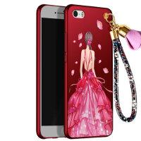 苹果 iPhone5s手机壳 苹果SE保护套 iphone5S/SE 手机壳套 保护壳套 个性挂绳全包硅胶防摔彩绘软潮