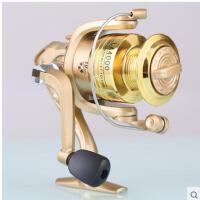 小巧便携耐用坚固海钓轮渔轮钓鱼用品鱼线轮鱼轮10轴承纺车轮渔轮