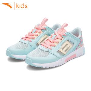 安踏童鞋女运动鞋网面2018新款夏季儿童跑步鞋女孩休闲鞋32728804