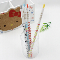 晨光文具可爱创意韩国油笔细原子笔学生用加长圆珠笔 0.5mm蓝色