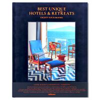 现货包邮 Best Unique Hotels & Retreats 独具特色酒店及入住酒店 展示全球各地杰出独特度假方
