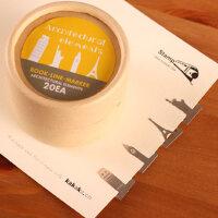 善书者BookMark 创意金属书签/世界建筑 SQ-JS045 20枚盒装迷你卡通造型金属书签唯美可爱文艺小清新男女