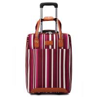 牛津布手提拉杆包旅行箱男女电脑行李密码子母登机箱包 20寸(收藏关注送 密码锁)