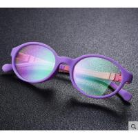 户外新款儿童变色防蓝光电脑护目镜 休闲百搭卡通电脑手机防辐射眼镜平光镜