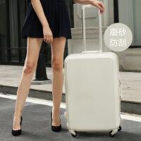 №【2019新款】坐飞机用的行李箱女铝框拉杆箱男万向轮22密码箱20寸24小型登机旅行箱皮箱子