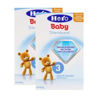 【两盒装包邮包税】保税区直发 荷兰美素(Hero Baby)奶粉3段(10-12个月宝宝)800g