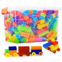 儿童塑料积木玩具男孩多功能积木桌女孩幼儿园益智拼装拼插