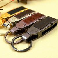 真皮腰挂钥匙扣 韩国男女士钥匙链汽车钥匙扣 创意礼物情侣
