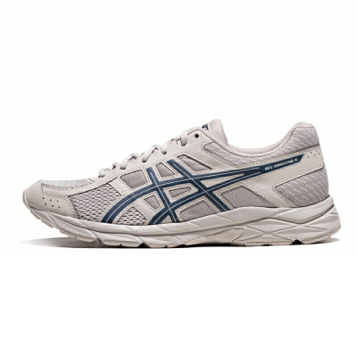 ASICS/亚瑟士 跑步鞋男鞋 缓震 透气 GEL-CONTEND 4  T8D4Q-200 专业跑鞋品牌 稳定支撑 缓冲