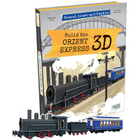 英文原版Travel Learn And Explore Build The Orient Express 3D火�模