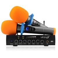 咪唱M5智能电视无线话筒 麦克风 电脑机顶盒投影仪k歌套装