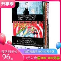 【好书直营店】尼尔盖曼英文原版小说 Neil Gaiman 3册盒装 Fortunately the Milk/The