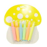 韩版创意文具 爆米花笔泡泡笔6色 夜光DIY涂鸦笔 金属绘画笔