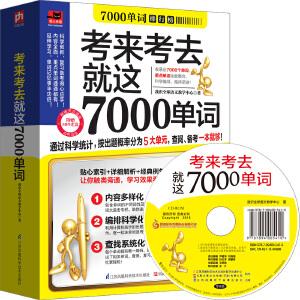 考来考去就这7000单词:科学统计考试出题率,破译单词学习的高分密码!
