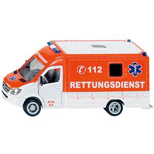 [当当自营]siku 德国仕高 1:50 救援车 合金车模玩具 U2108