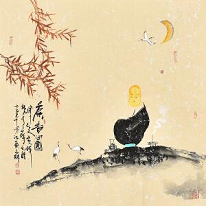 中国国际书画协会会员  天语茶香图gr01383
