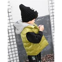 男童棉马甲冬装儿童外套加厚保暖秋款坎肩