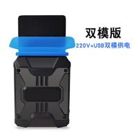 笔记本手提电脑大功率侧吸式静音排风扇机降温散热器抽风机适用华硕苹果三星131516寸