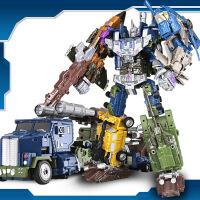 变形玩具金刚合体汽车机器人超大模型男孩儿童玩具 生日礼物六一圣诞节新年礼品