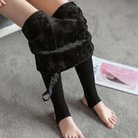 孕妇打底裤女孕妇丝袜秋冬加绒加厚托腹可调节踩脚袜打底袜